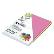 Бумага офисная Index Color, А4, 100 л, 4 цв. по 25 л, 80 г, ICmixintensiv фото