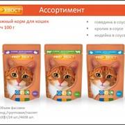 """Корма для кошек 100гр """"Прохвост"""" фото"""