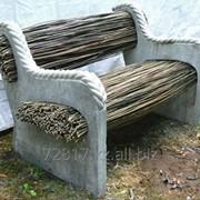Садовая и ландшафтная мебель, предметы экстерьера фото