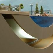 Модель участка прохождения тоннеля фото