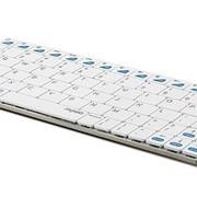 Клавиатура Rapoo Wireless Keyboard Mini Е6300 for iPad, S-Slim, white BT 3.0 фото