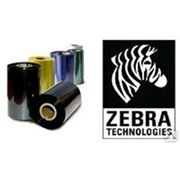 Красящая лента Zebra 3200 wax/resin black 33мм/ 74 м zebra фото