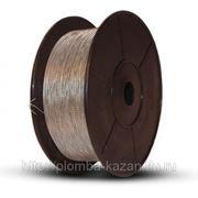 Проволока пломбировочная витая (спираль) металл+металл фото