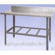 СРОб 1500: Стол производственный разделочный с бортом фото