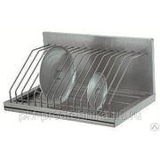 Полка кухонная ПКК-600 для крышек фото