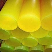 Полиуретан стержень 40 мм (L400 мм, 0,6 кг, красный) фото