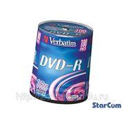 Матрица DVD-R Verbatim Cake Box фото