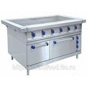 Плита электрическая для ресторана 6-ти конфорочная с духовкой Abat ЭП-6ЖШ фото