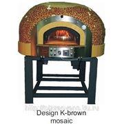 """Печь для пиццы на дровах и газу серии GR дизайн """"K"""" фото"""