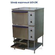 Шкаф жарочный 2-х секц. (полимерно-порошковое покрытие, лицевая нерж. ) — ШЭ-2Ж фото