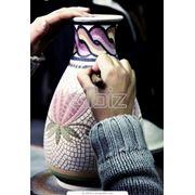 Изделия из керамики ручной работы фото