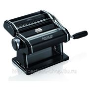 Marcato Atlas 150 Nero ручная тестораскатка-машинка для изготовления домашней лапши и раскатки теста для дома фото