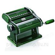 Marcato Atlas 150 Verde тесторезка - тестораскаточная машина домашняя бытовая ручная для дома фото