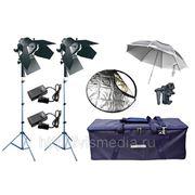 Комплект репортажного света Logocam 2000/DD DIM KIT фото