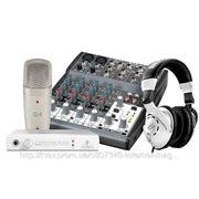 Комплект для звукозаписи Behringer PodcaStudio FireWire фото