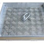 Люки напольные алюминиевые вынимаемые