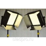 Camtree 2 Set Of 1000pc Bi Color Studio LED Lights + Floor Dolly + Tripod Stand фото