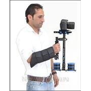 Стедикам FLYCAM DSLR Nano CF плюс быстросъемная площадка, плюс Скоба для запястья Arm brace фото