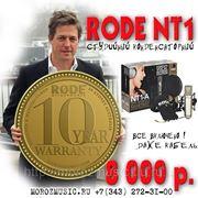RODE NT1-A микрофон студийный конденсаторный, частотный диапазон 20-20000 Гц, кардиоидный, динамичес фото