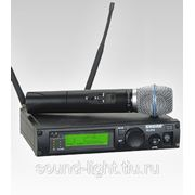 Shure ULXP24/Beta87A Профессиональный вокальный радиомикрофон, UHF радиосистема фото