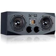"""ADAM A77X Активный 2,5-х полосный студийный аудио монитор, ленточный X-ART ВЧ драйвер 2"""", Carbon Fib фото"""