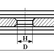 Круги из кубического нитрида бора (КНБ) на органической связке формы 9АЗ фото