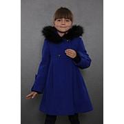Пальто зимнее 7-505-700 (синий) фото