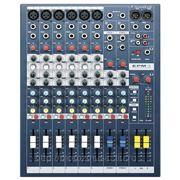 Soundcraft EPM6 микш.пульт, 6 mono + 2 stereo, 2 aux, 60мм фейдер фото