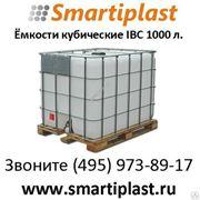 Емкость кубическая 1000 л IBC на деревянном подддоне Еврокуб IBC еврокубы фото