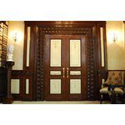 Двери резные деревянные
