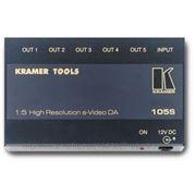 Kramer 105S Усилитель-распределитель (1:5) для S-видеосигнала, 0.28кг (арт. 105S) фото