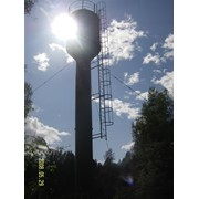 Монтаж водонапорных башен фото