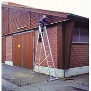 Лестница алюминиевая универсальная, двухсекционная, Krause Corda 010223 фото