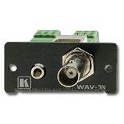 Kramer WAV-1N (G) Переходник BNC+разъём аудио 3.5мм > клеммный блок (арт. WAV-1N (G)) фото