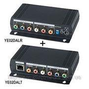 YE02DAL комплект передачи RGB видеосигнала и цифрового, стерео аудио сигнала до 300 м. фото
