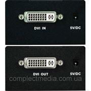 DVI-ED Удлинитель dvi по витой паре на 50 м. фото