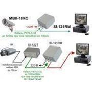 SI-124R— четырехканальный приемник изображения для видеокамеры МВК-0812 К/0832 К/0852ц ДК фото