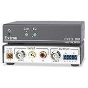 Активный интерфейс композитного видео и аудио с усилением и компенсацией Extron CVEQ 100 фото