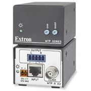 MTP Twisted Pair Receiver for Composite Video and Audio Extron MTP R AV фото