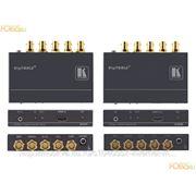 HDMI приемник Kramer 640R по 5 коаксиальным кабелям