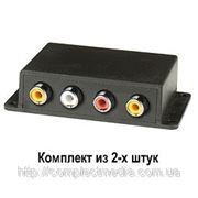 TTP212АV-K передатчик двунаправленный 2 видео (300 м.), 2 аудио (1500 м.) фото