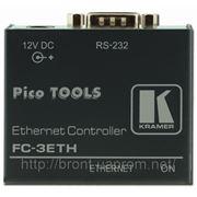 3-канальный передатчик/приемник команд RS-232 по Ethernet Kramer FC-3ETH фото