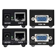 VGA-CAT5 - комплект для передачи VGA сигнала по витой паре (5 Cat) на 120 м. фото