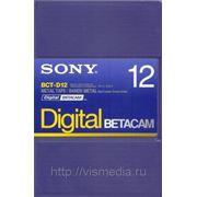 Видеокассета Digital Betacam SONY BCT D12 фото