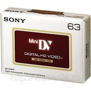 Видеокассета Sony MiniDV DVM 63 HDV фото
