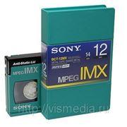 Видеокассета Sony MPEG IMX BCT-12MX фото