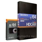 Видеокассета Sony HDCAM BCT-64HDL фото