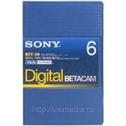Видеокассета Digital Betacam SONY BCT D6 фото