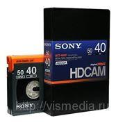 Видеокассета Sony HDCAM BCT-40HD фото