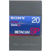 Видеокассета Betacam SP SONY BCT 20MA фото